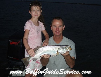 Catch speckled trout and redfish on Baffin Bay